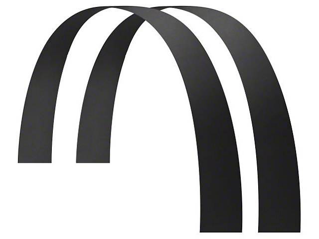 Husky 6-Inch Wide Long John Flares; 65-Inch Length (Universal Fitment)