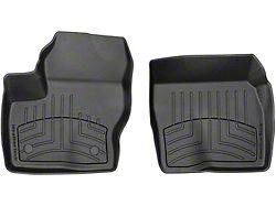 Weathertech Front Floor Liner HP; Black (19-21 Sierra 1500)