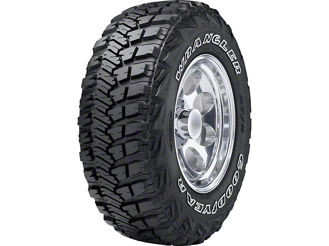 Goodyear Wrangler MT/R with Kevlar Tire