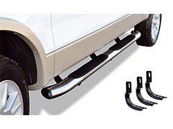 5-Inch OE Xtreme Composite Side Step Bars; Chrome (02-08 RAM 1500 Quad Cab)