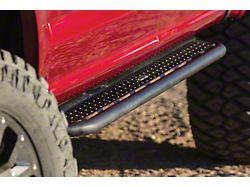 Dominator D6 Cab Length Side Step Bars; Textured Black (10-22 RAM 2500 Crew Cab)