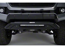 RC3 LR Skid Plate with 20-Inch LED Light Bar and Center Step; Textured Black (10-18 RAM 2500)