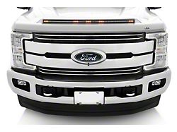 Color Match Aeroskin LightShield Hood Protector; Oxford White (17-22 F-250 Super Duty)