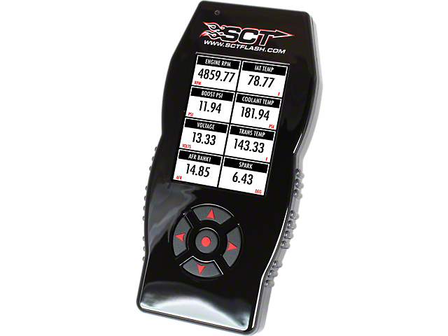 SCT X4/SF4 Power Flash Tuner (15-20 3.5L EcoBoost F-150, Excluding Raptor)