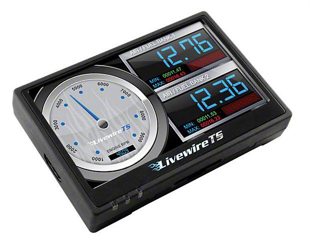 SCT LiveWire TS+ Tuner (11-14 6.2L, Excluding Raptor)