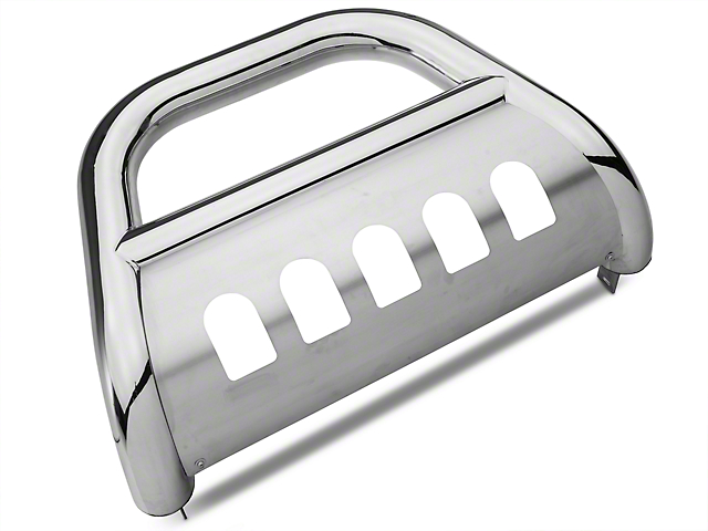 Barricade 4 in. Bull Bar - Polished Stainless (04-08 All)