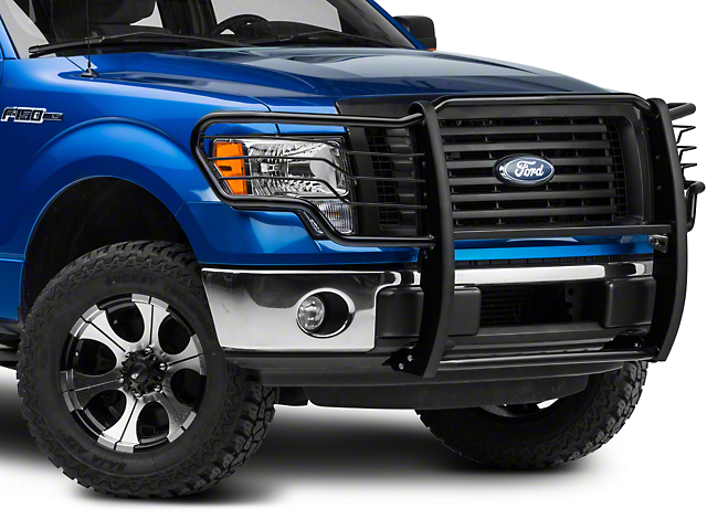 Barricade Brush Guard; Gloss Black (09-14 F-150, Excluding Raptor)