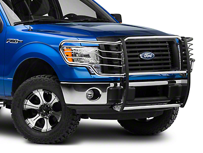 Barricade Brush Guard - Polished SS (09-14 F-150, Excluding Raptor)