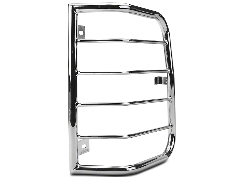 Barricade Tail Light Guards - Polished SS (04-08 F-150 Styleside)