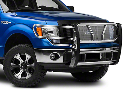 Barricade Xtreme Heavy Duty Brush Guard - Polished SS (09-14 All, Excluding Raptor)
