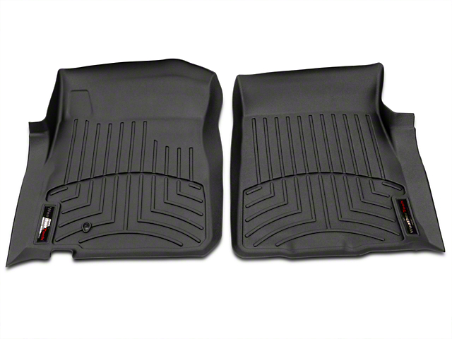 Weathertech Digital Fit Front Floor Liners - Black (97-03 F-150 Regular Cab, SuperCab)