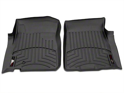 Weathertech Digital Fit Front Floor Liners - Black (97-03 Regular Cab, SuperCab)