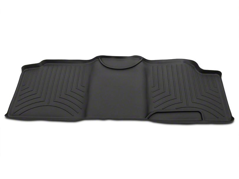 Weathertech Digital Fit Rear Floor Liner - Black (00-03 SuperCab)