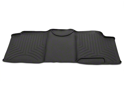Weathertech Digital Fit Rear Floor Liner - Black (00-03 SuperCab)