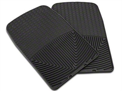 Weathertech All Weather Front Rubber Floor Mats - Black (97-03 F-150)