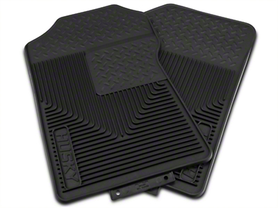Husky Heavy Duty Front Floor Mats - Black (97-03 All)