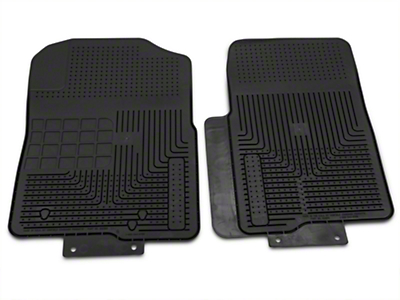 Husky Heavy Duty Front Floor Mats - Black (04-10 All)