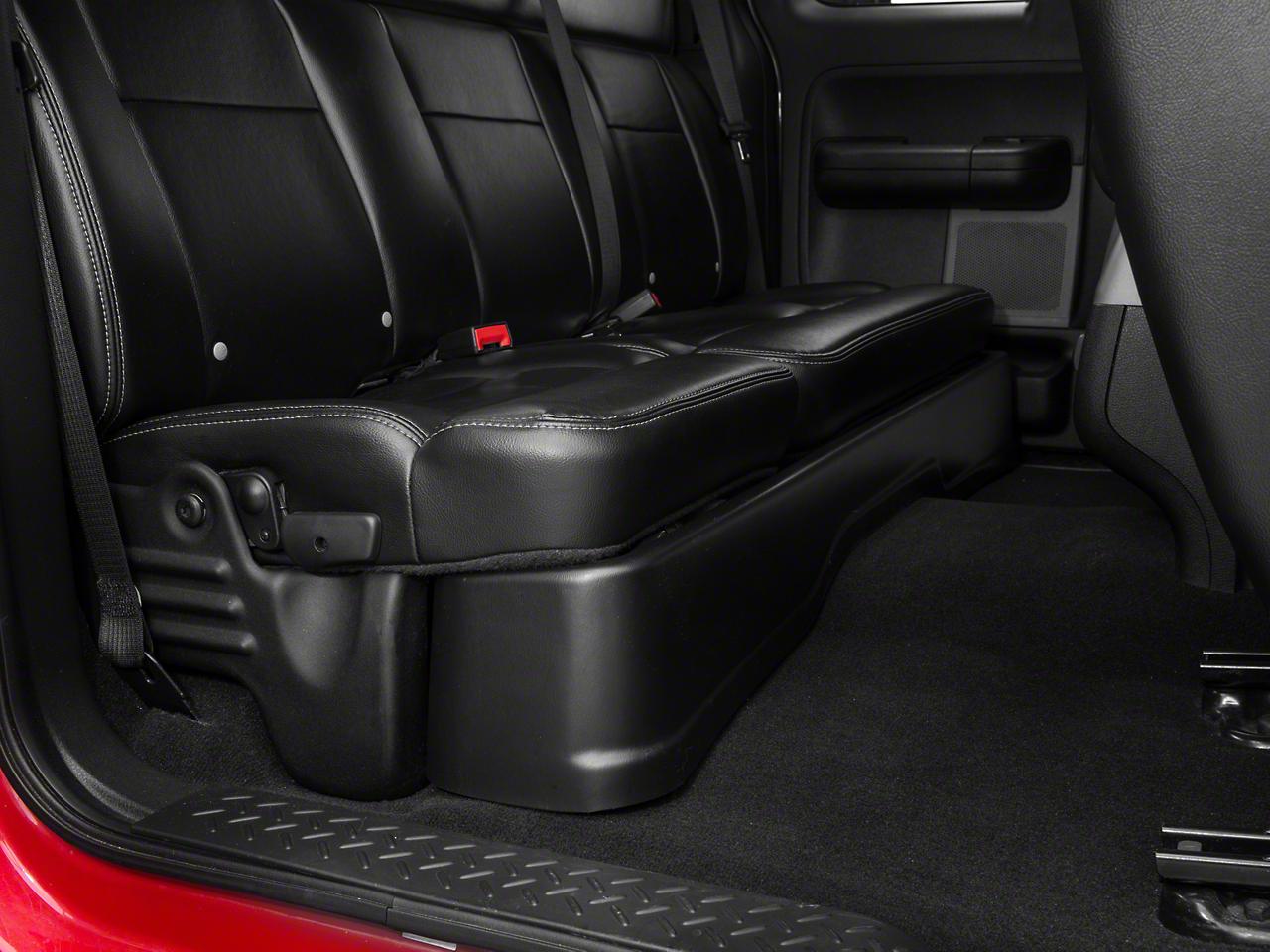 Husky Gearbox Under Seat Storage Box (04-08 F-150 SuperCab, SuperCrew)