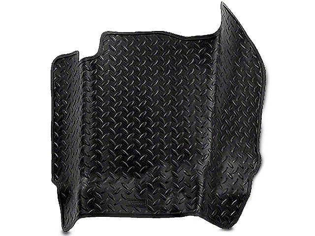 Husky Classic Center Hump Floor Liner - Black (04-08 SuperCab, SuperCrew)