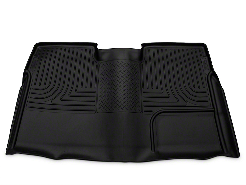 Husky WeatherBeater 2nd Seat Floor Liner - Full Coverage - Black (09-14 SuperCrew)