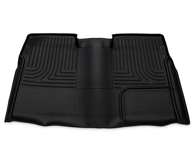 Husky WeatherBeater 2nd Seat Floor Liner - Full Coverage - Black (09-14 F-150 SuperCrew)