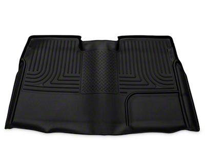Husky WeatherBeater 2nd Seat Floor Liner - Full Coverage - Black (09-14 SuperCrew)