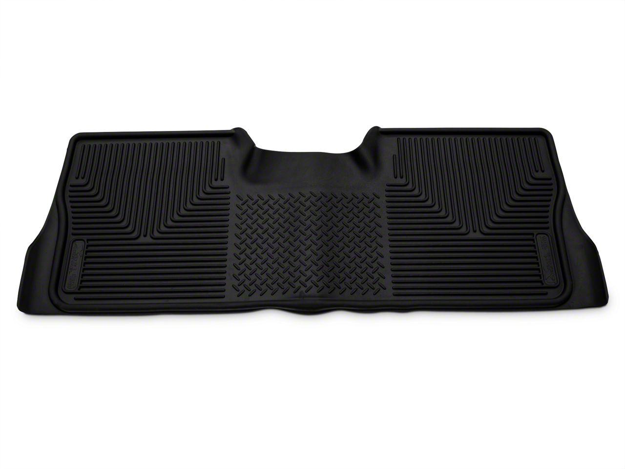 Husky X-Act Contour 2nd Seat Floor Liner - Black (09-14 F-150 SuperCrew)