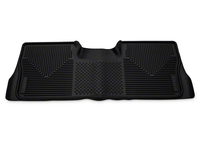 Husky X-Act Contour 2nd Seat Floor Liner - Black (09-14 SuperCrew)