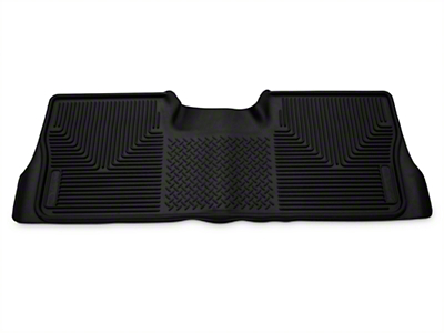 Husky X-Act Contour 2nd Seat Floor Liner - Black (09-14 F-150 SuperCrew)