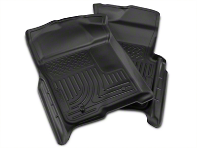 Husky Weatherbeater Front Floor Liners - Black (09-14 All)