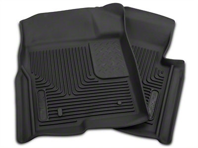 Husky X-Act Contour Front Floor Liners - Black (09-14 All)