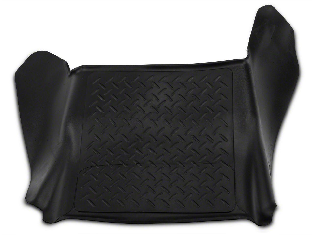 Husky Weatherbeater Center Hump Floor Liner - Black (09-14 F-150)