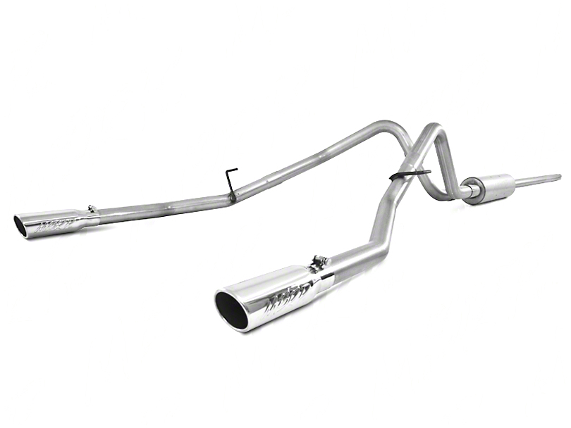 MBRP Installer Series 3 in. Cat-Back Exhaust - Split Rear Exit (04-08 4.6L)