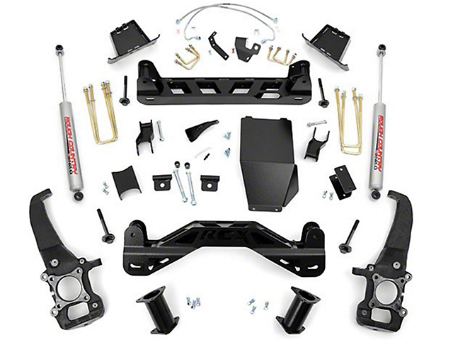 Rough Country 6 in. Suspension Lift Kit w/ Upper Strut Spacers (04-08 4WD)