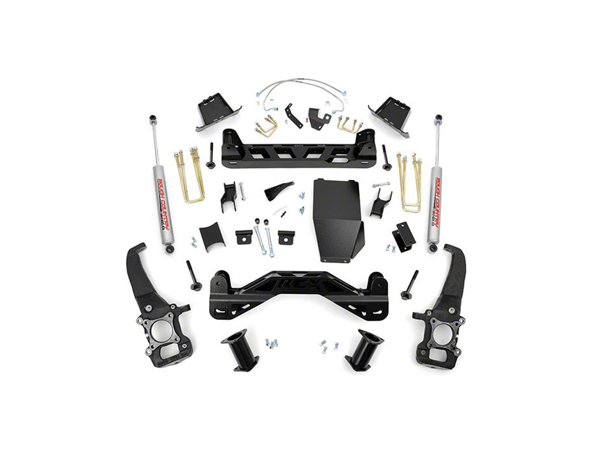 Rough Country 6 in  Suspension Lift Kit w/ Upper Strut Spacers (04-08 4WD  F-150)