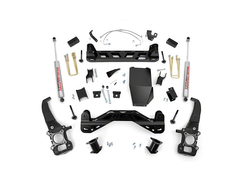 Rough Country 4 in. Suspension Lift Kit (04-08 4WD F-150)
