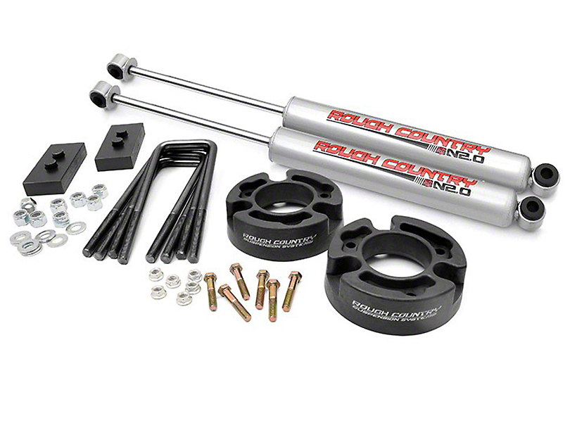 Rough Country 2.5 in. Leveling Lift Kit w/ N3 Shocks (04-08 2WD/4WD F-150)