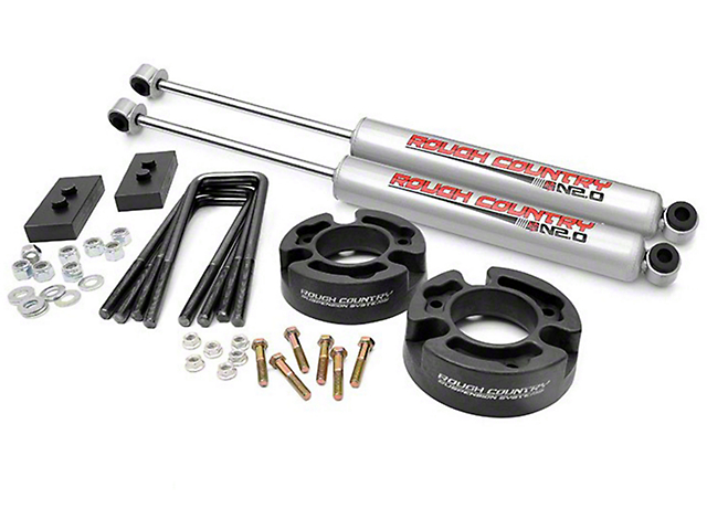 Rough Country 2.50-Inch Leveling Lift Kit with N3 Shocks (04-08 2WD/4WD F-150)