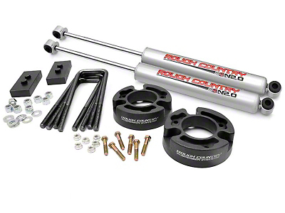 Rough Country 2.5 in. Leveling Lift Kit w/ N2.0 Shocks (04-08 2WD/4WD F-150)