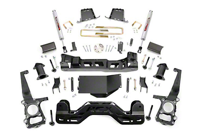 Rough Country 6 in. Suspension Lift Kit w/ Upper Strut Spacers (09-10 4WD F-150, Excluding Raptor)