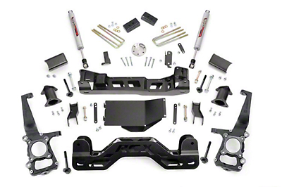Rough Country 4 in. Suspension Lift Kit w/ Upper Strut Spacers (09-10 4WD F-150, Excluding Raptor)