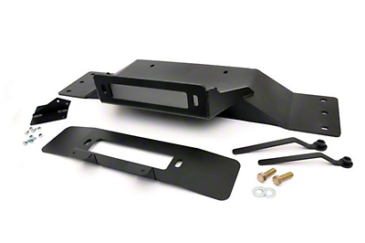 Rough Country Hidden Winch Mounting Plate (09-14 All, Excluding EcoBoost & Raptor)