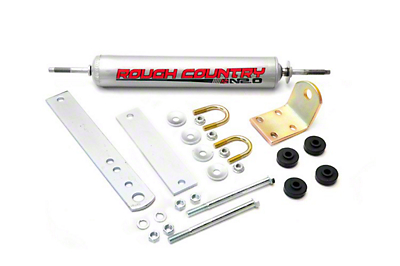 Rough Country Big Bore Single Steering Stabilizer (97-03 2WD/4WD)