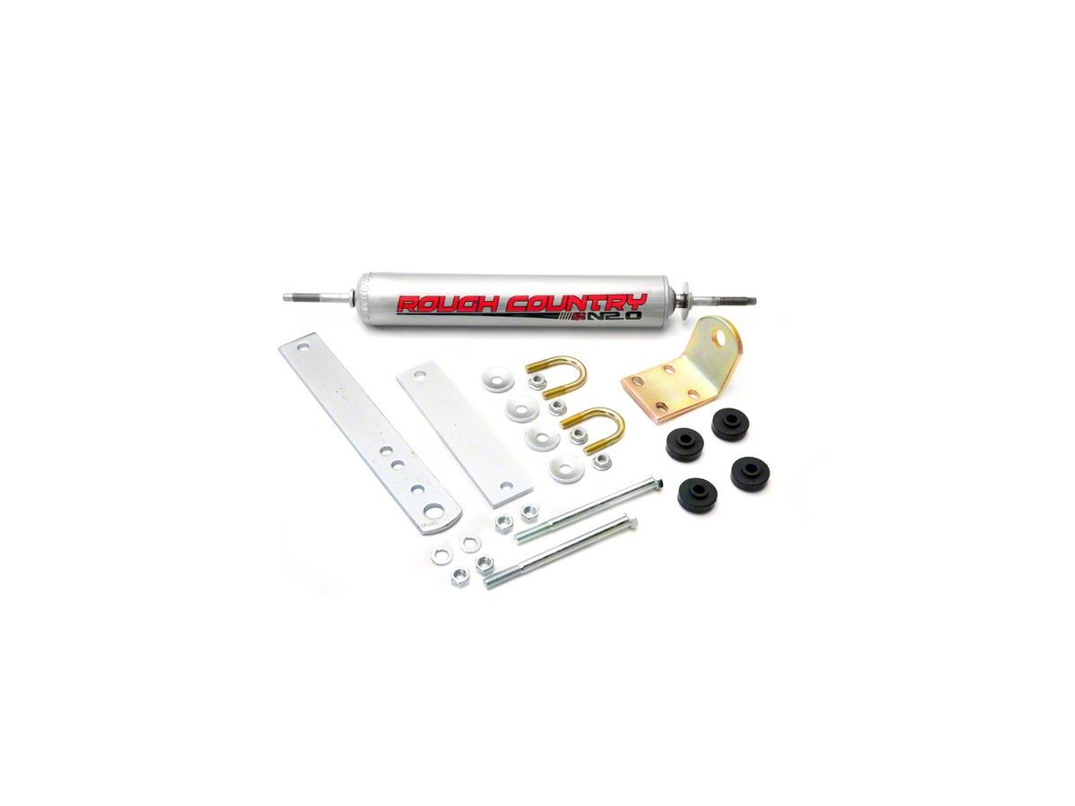 Rough Country Big Bore Single Steering Stabilizer (97-03 2WD/4WD F-150)