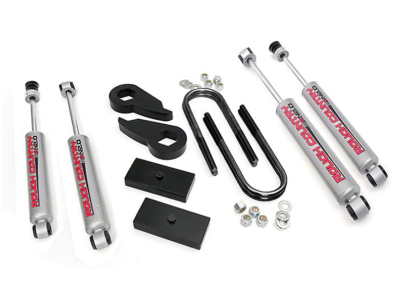 Rough Country 2.5 in. Leveling Lift Kit w/ Shocks (97-03 4WD)