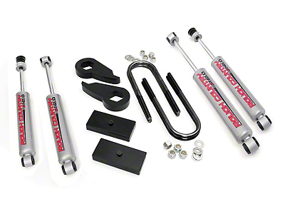 Rough Country 2.5 in. Leveling Lift Kit w/ Shocks (97-03 4WD F-150)