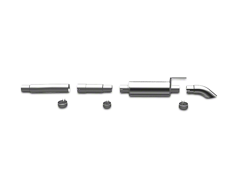 Magnaflow Off Road Pro Series Cat-Back Exhaust - Turn Down (04-08 4.6L)