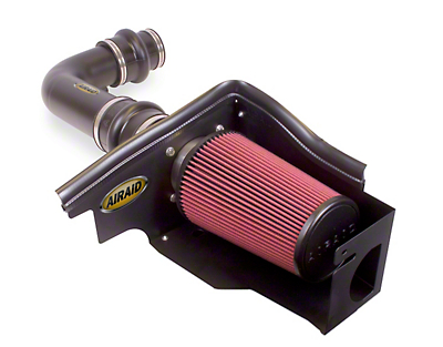 Airaid Silver Cold Air Dam Intake w/ SynthaFlow Oiled Filter (97-03 4.6L)