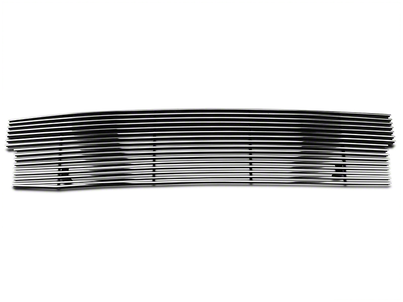 Modern Billet Upper Logo Delete Grille - Polished (97-98 All)