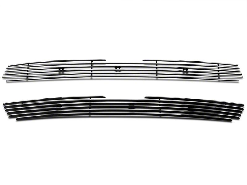 Modern Billet Upper Overlay Grille - Polished (97-98 F-150)